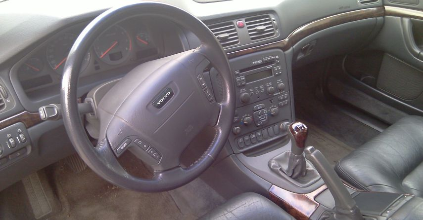 S80 2.9 interior manual gearbox