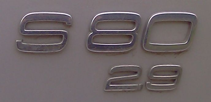 S80 2.9 rear