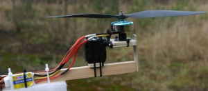 Yaw for tricopter with servo