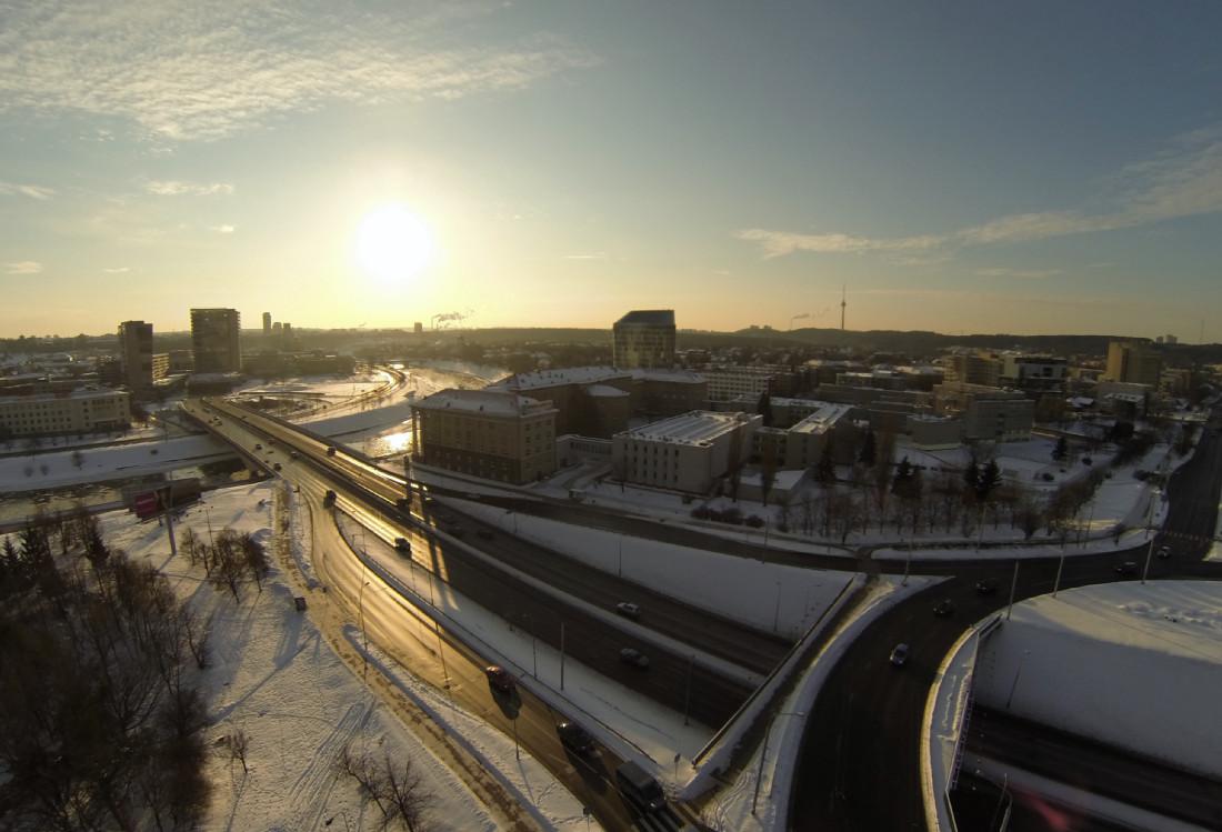 Vilnius, prie peduko, 2012.12