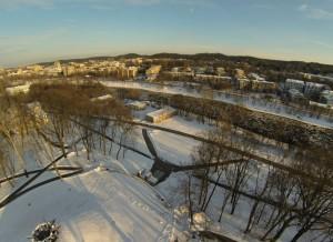 Vilnius, prie Olandų žiedo, 2012.12