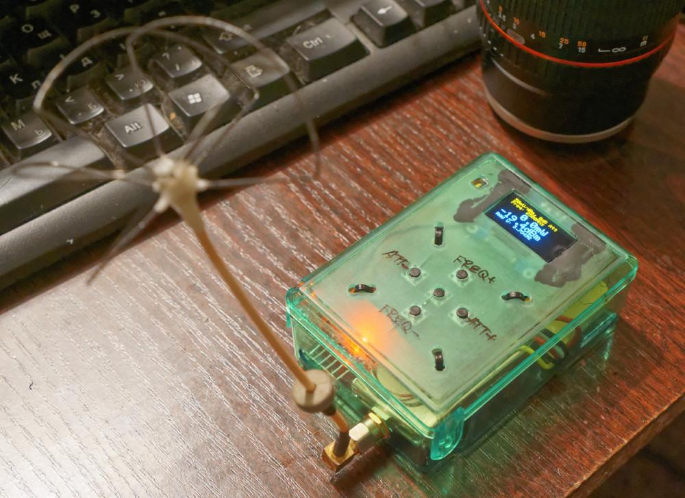 Simple portable RF power meter | Belenkas belenkur ir belenkaip